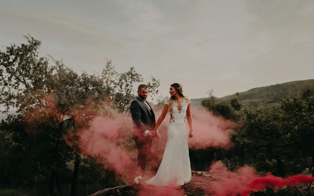 Un mariage champêtre à la Bastide de l'Endre ( Amandine + Thomas)