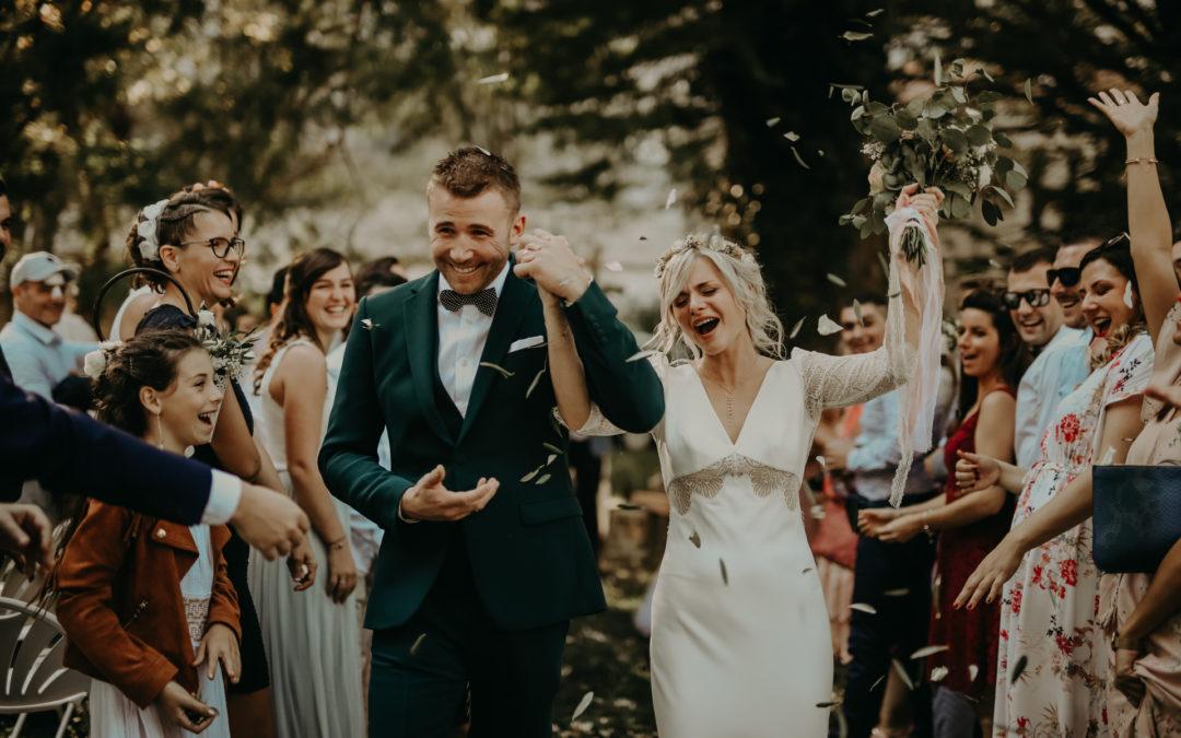 Un mariage féérique et bohème à l'auberge du Parc Orgon