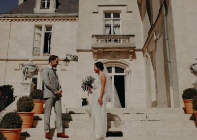 mariage vintage chateau pape clément mariage bordeaux maelys izzo photographe