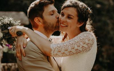 Un mariage hors du temps et chaleureux en Lozère