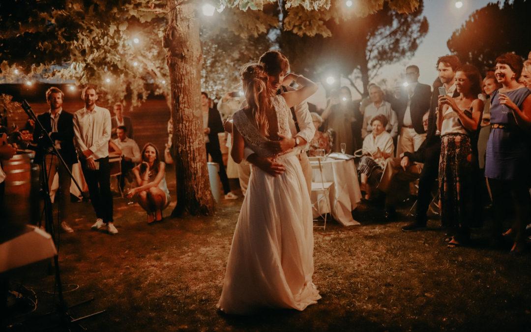 Une grande fête de mariage autour d'Aix au Domaine de la Pommé
